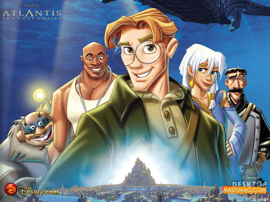 Atlantis The Lost Empire Cartoon Wallpaper The Cinema Warehouse